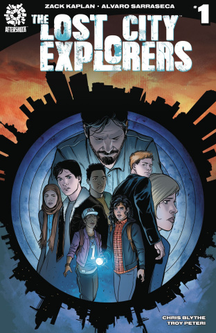 The Lost City Explorers #1 (Sarraseca Cover)