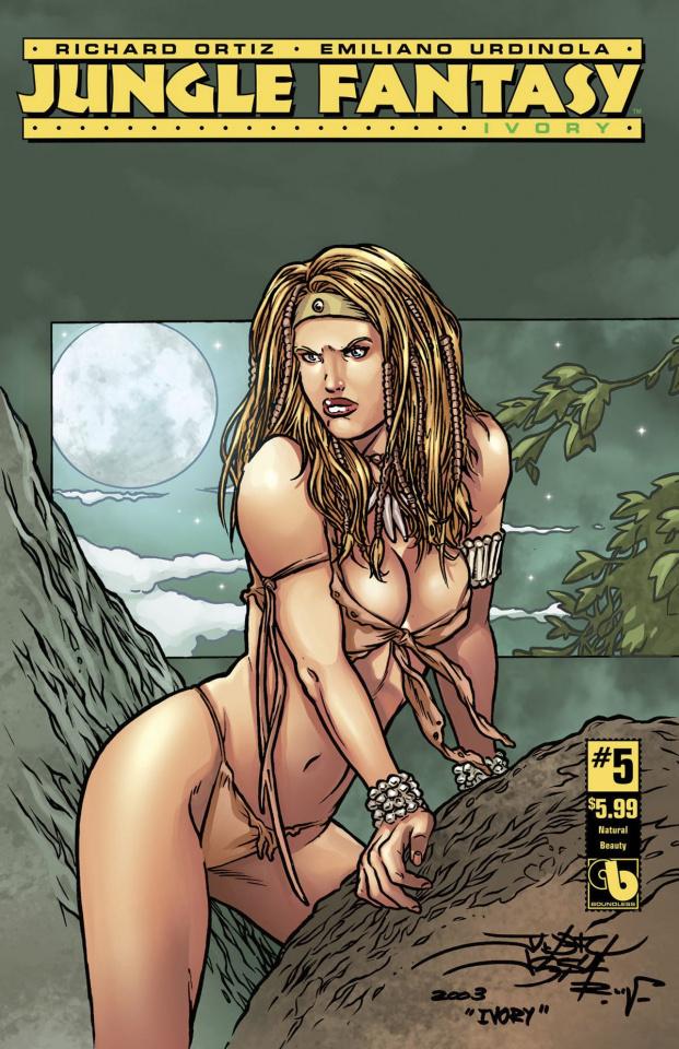 Jungle Fantasy: Ivory #5 (Natural Beauty Cover)