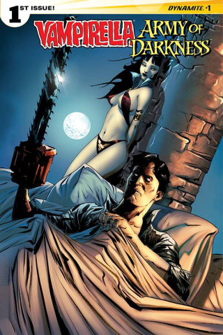Vampirella / Army of Darkness #1 (Lee Cover)