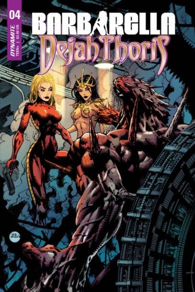 Barbarella / Dejah Thoris #4 (Hsieh Cover)
