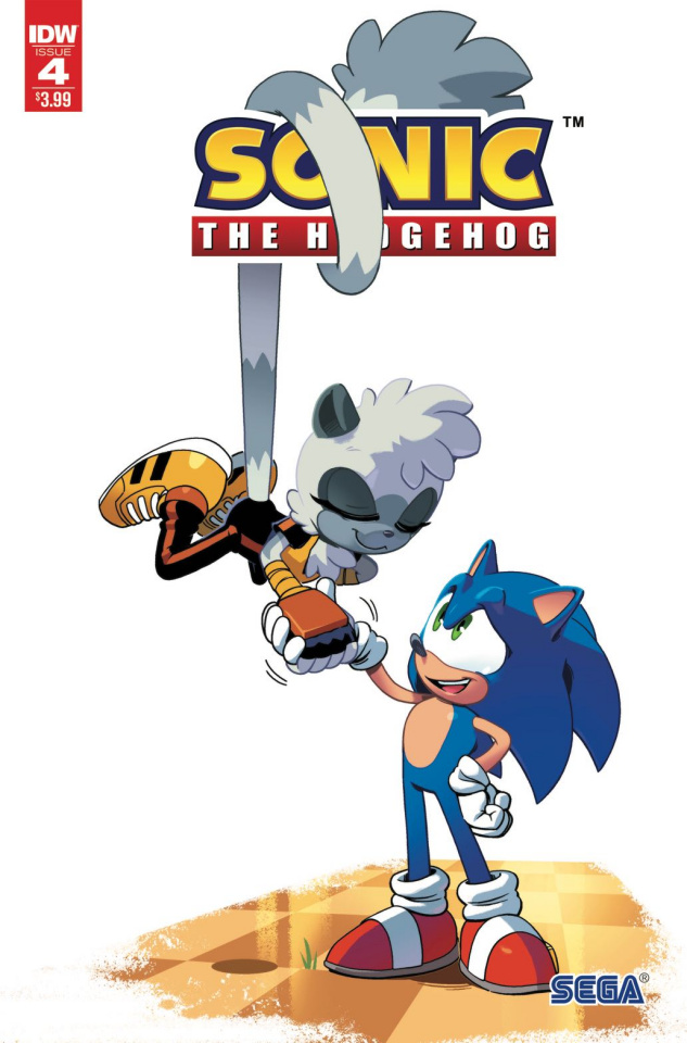 Sonic the Hedgehog #4 (2nd Printing)