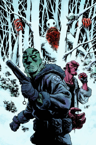 Abe Sapien #4: New Race, Part 1