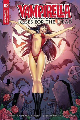 Vampirella: Roses for the Dead #2 (Tucci Cover)