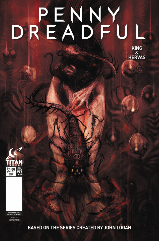 Penny Dreadful #4 (Harding Cover)