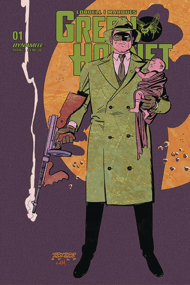 Green Hornet #1 (Romero Cover)