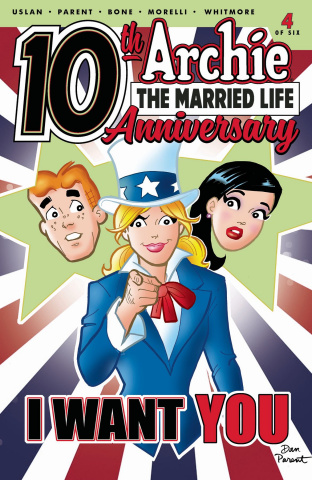 Archie: The Married Life - 10 Years Later #4 (Parent Cover)