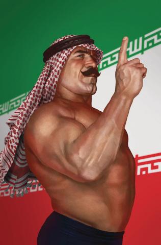WWE #22 (15 Copy Rahzzah Cover)