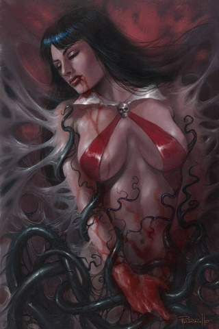 Vampirella #16 (Parrillo Virgin Cover)