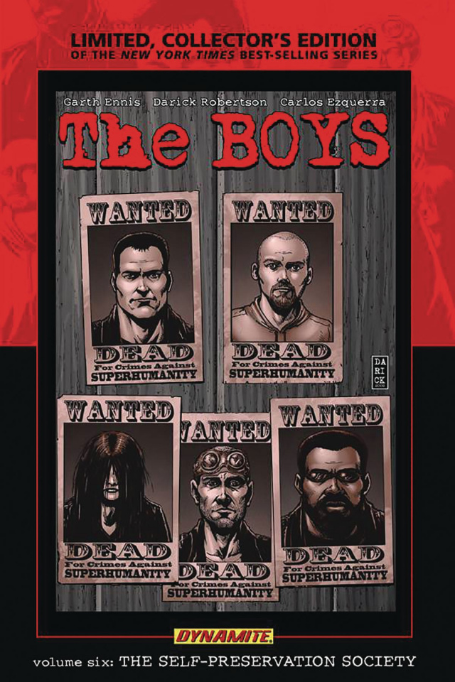 The Boys Vol. 6: The Self-Preservation Society (Robertson Signed Edition)