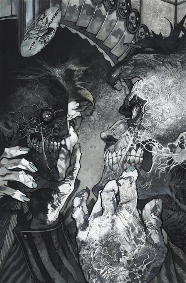 Batman: Black & White #4 (Simone Bianchi Two-Face Cover)