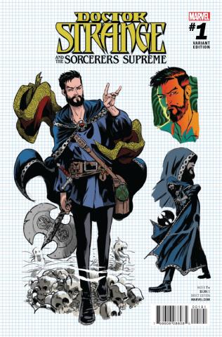 Doctor Strange and the Sorcerers Supreme #1 (Rodriguez Design Cover)