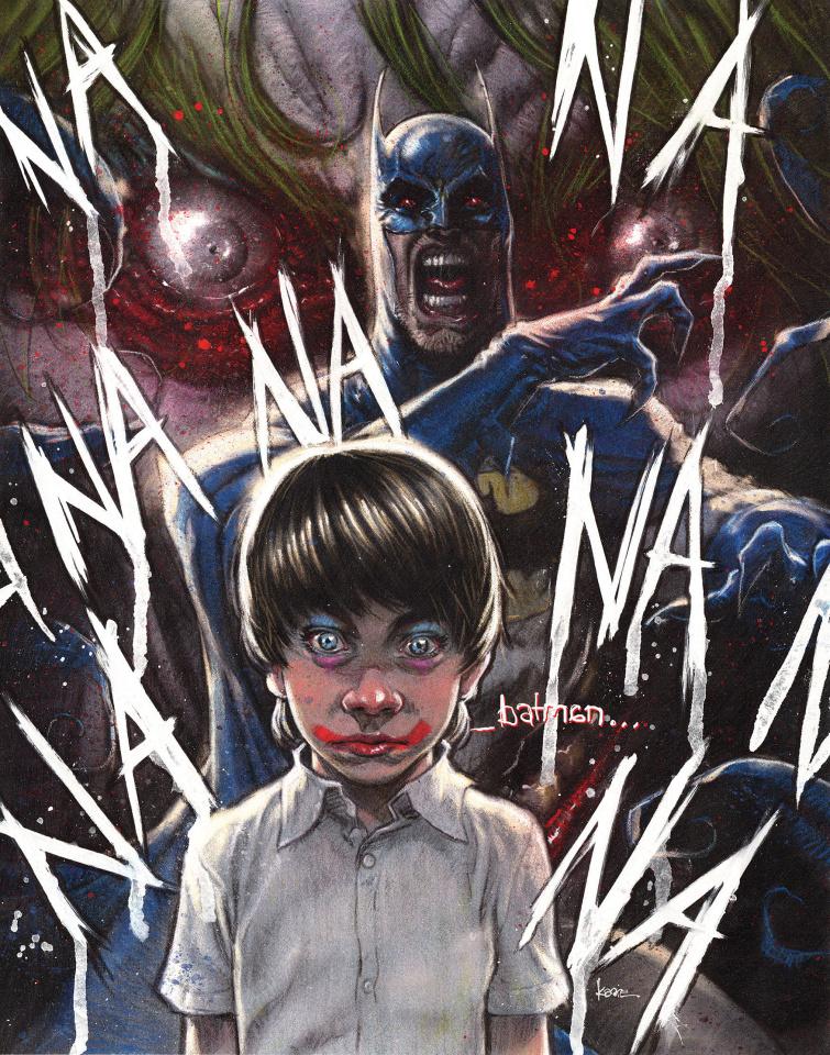 Batman: The Smile Killer #1 (Kaare Andrews Cover)