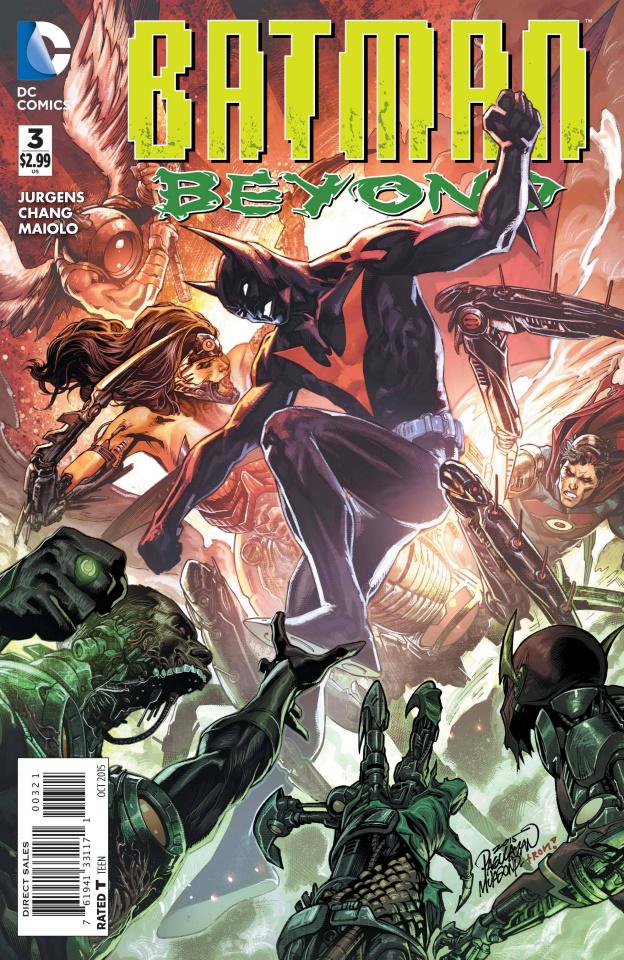 Batman Beyond #3 (Variant Cover)