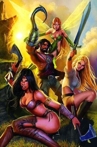 Grimm Fairy Tales Presents: Neverland - Hook #5 (Sejic Cover)
