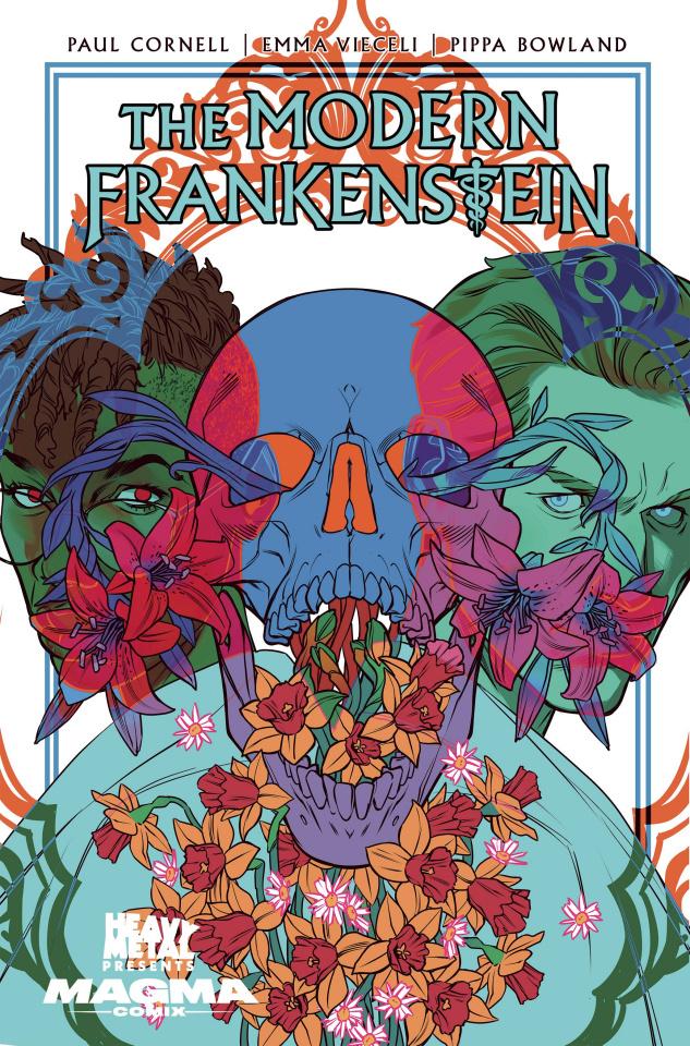 The Modern Frankenstein #4 (10 Copy Stott Cover)