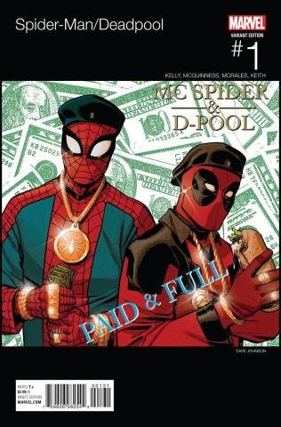 Spider-Man / Deadpool #1 (Johnson Hip Hop Cover)