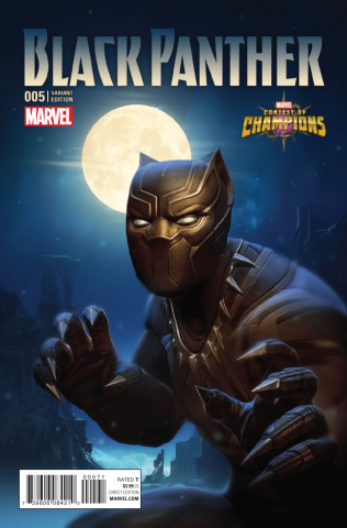 Black Panther #5 (Kabam Contest Of Champions Game Cover)