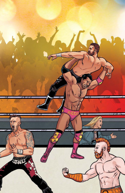 WWE #3 (Unlock Royal Rumble Connecting Cover)