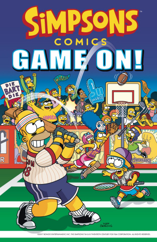 Simpsons Comics: Game On!