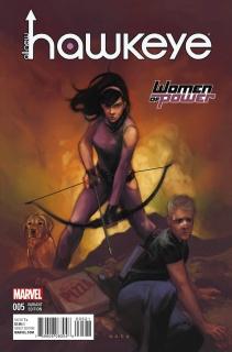 All-New Hawkeye #5 (WOP Cover)