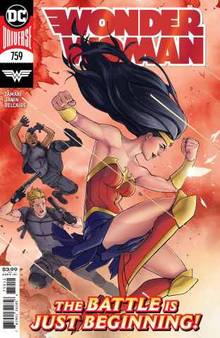 Wonder Woman #759 (David Marquez Recolored 2nd Printing)