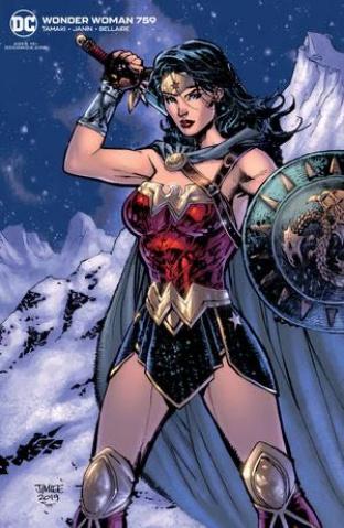 Wonder Woman #759 (Jim Lee Card Stock Cover)