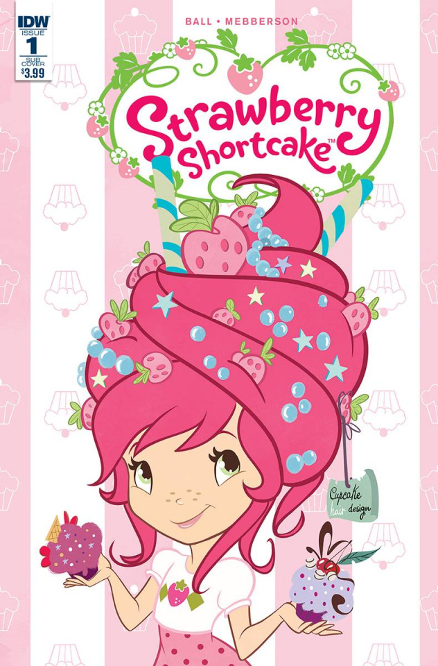 Strawberry Shortcake #1 (Scented Cover)