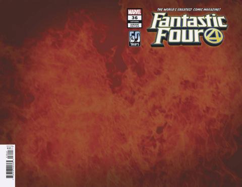 Fantastic Four #36 (Flame Cover)