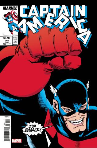 Captain America #354 (Facsimile Edition)