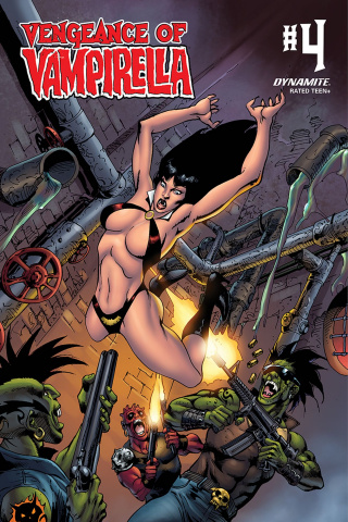 Vengeance of Vampirella #4 (Castro Bonus Cover)
