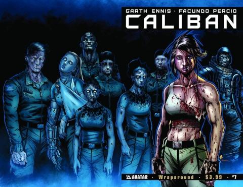 Caliban #7 (Wrap Cover)