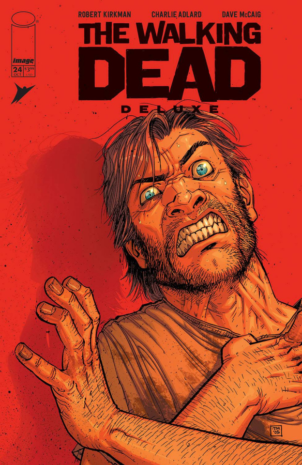 The Walking Dead Deluxe #24 (Moore & McCaig Cover)