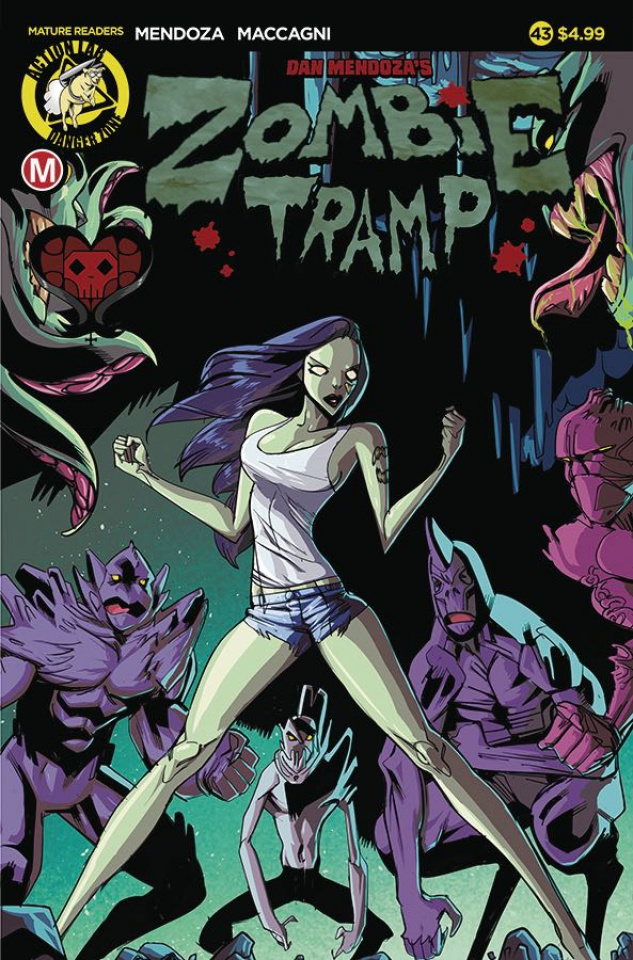 Zombie Tramp #43 (Celor Cover)