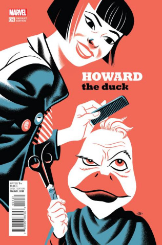 Howard the Duck #4 (Cho Cover)