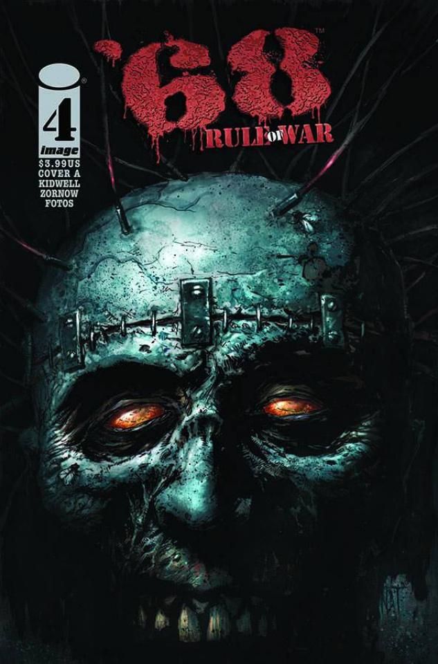 '68: Rule of War #4 (Jones Cover)
