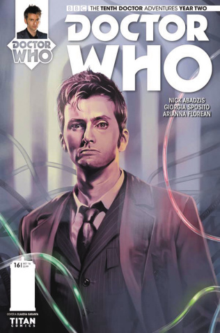 Doctor Who: New Adventures with the Tenth Doctor, Year Two #16 (Caranfa Cover)