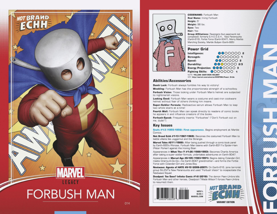 Not Brand ECHH #14 (Christopher Trading Card Cover)