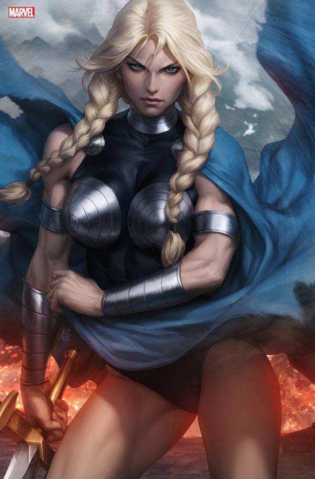 King in Black: Return of the Valkyries #1 (Artgerm Virgin Cover)