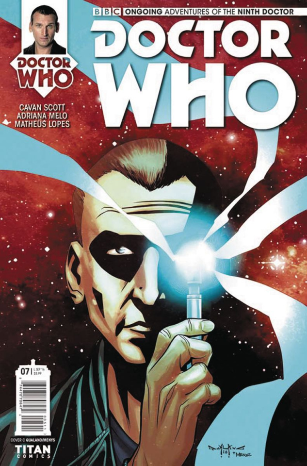 Doctor Who: New Adventures with the Ninth Doctor #7 (Qualano Cover)