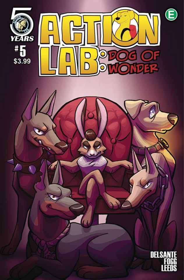 Action Lab: Dog of Wonder #5 (Leeds Cover)