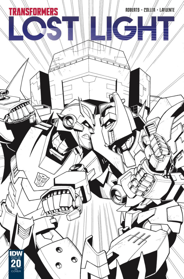 The Transformers: Lost Light #20 (10 Copy Cover)