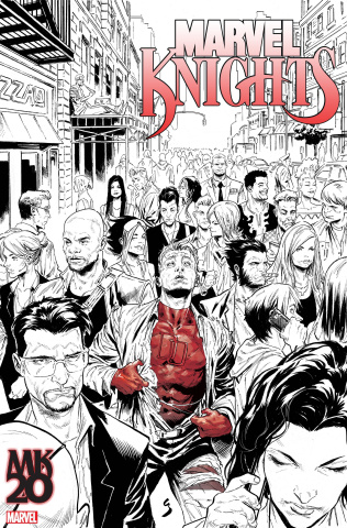 Marvel Knights: 20th Anniversary #1 (Local Comic Shop Day 2018)