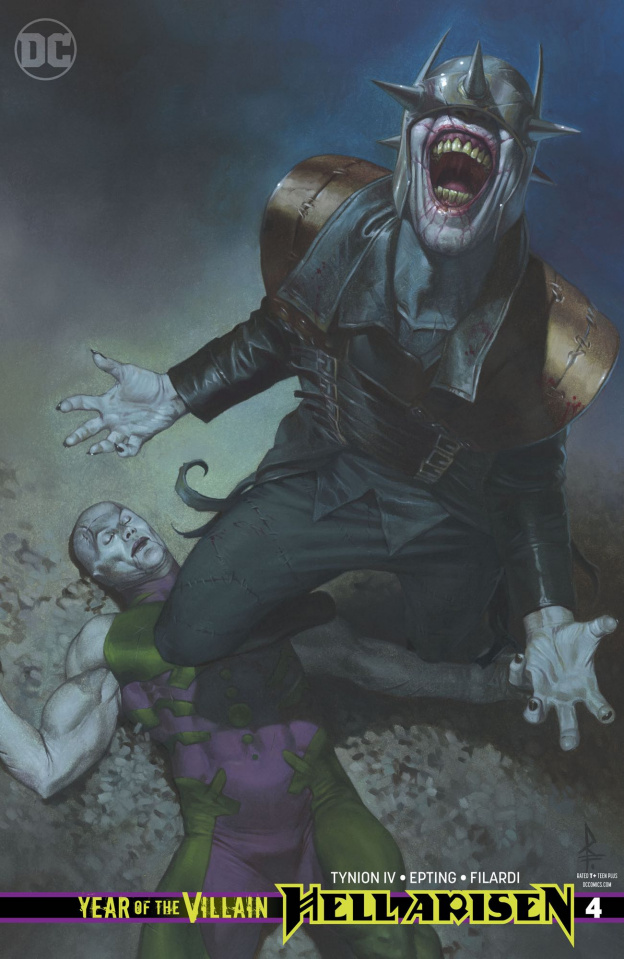 Year of the Villain: Hell Arisen #4 (Federici Cover)