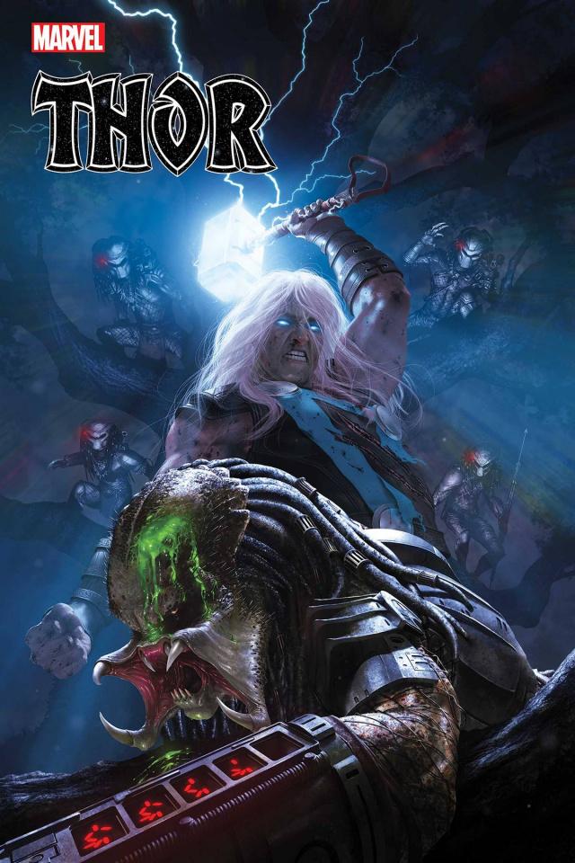 Thor #15 (Rahzzah Predator Cover)