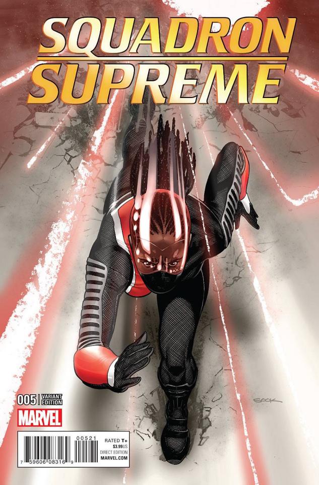 Squadron Supreme #5 (Sook Cover)