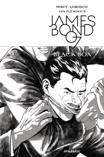 James Bond: Black Box #5 (10 Copy Masters B&W Cover)