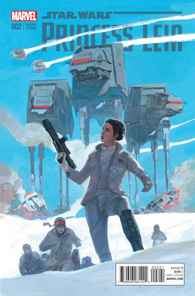 Princess Leia #2 (Maleev Cover)