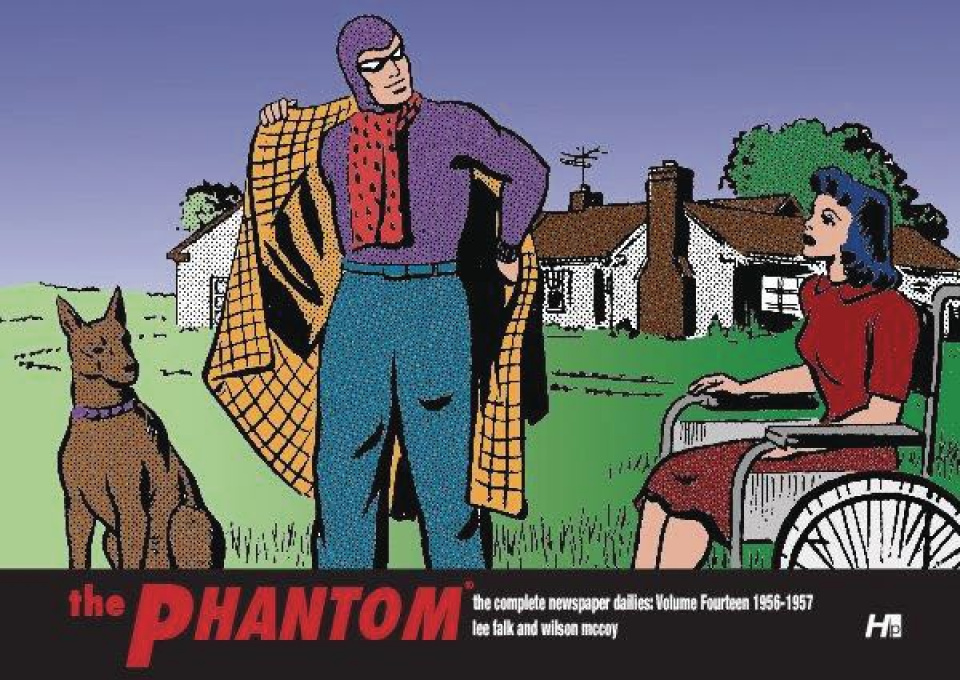 The Phantom: The Complete Newspaper Dailies Vol. 14: 1956-1957