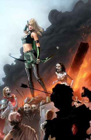 Grimm Fairy Tales: Robyn Hood Annual #1 (Watts Cover)