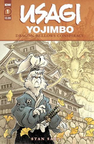 Usagi Yojimbo: Dragon Bellow Conspiracy #1